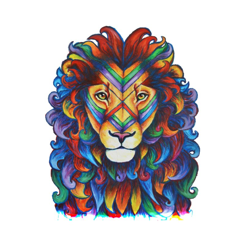 Mufasa in Technicolour by CYLF's Artist Shop
