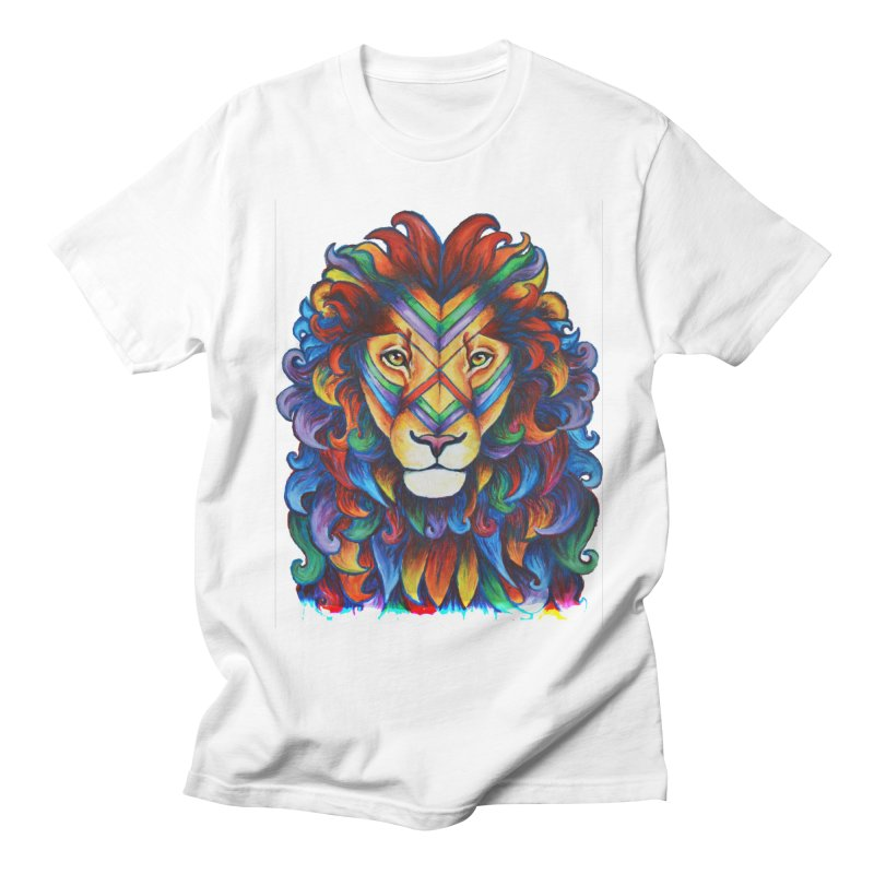 Mufasa in Technicolour Men's T-shirt by CYLF's Artist Shop