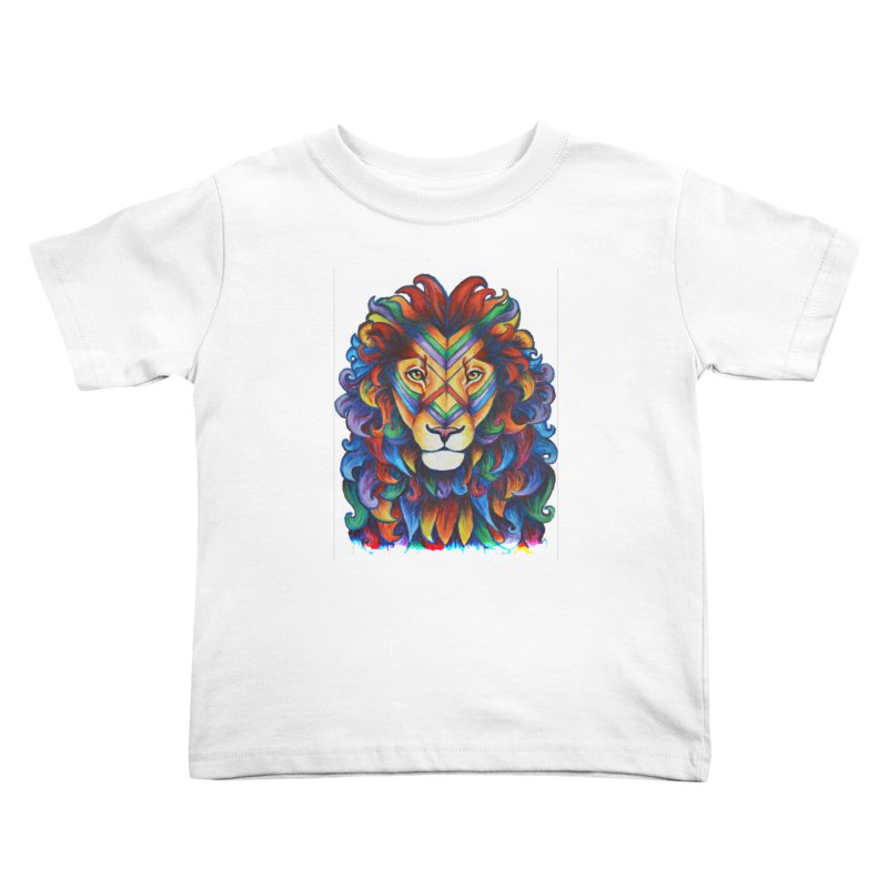 Mufasa in Technicolour Kids Toddler T-Shirt by CYLF's Artist Shop