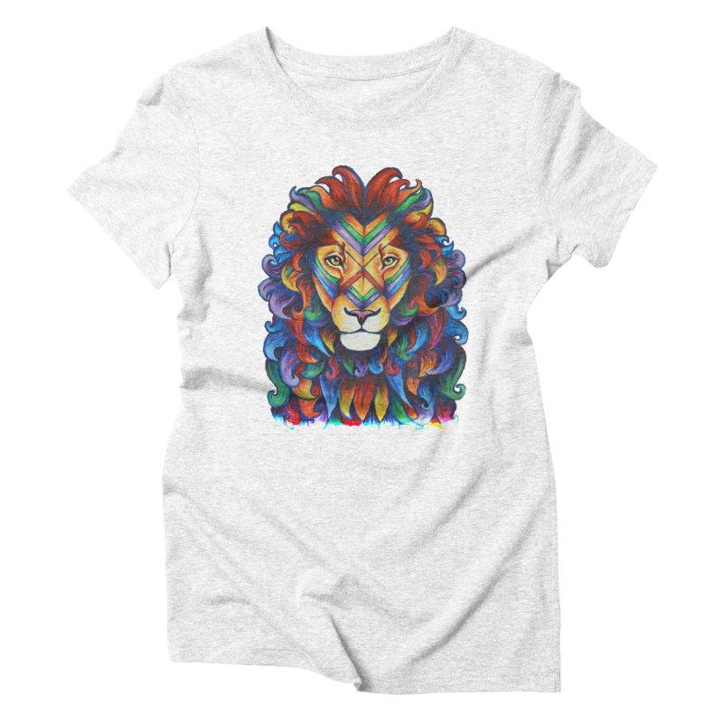 Mufasa in Technicolour Women's Triblend T-shirt by CYLF's Artist Shop