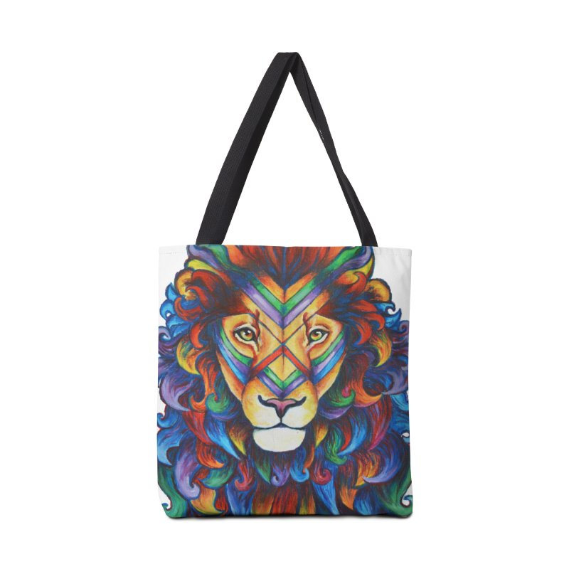 Mufasa in Technicolour Accessories Bag by CYLF's Artist Shop