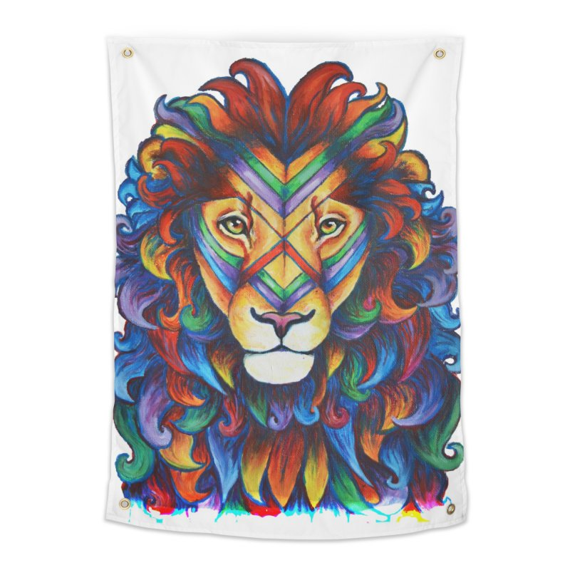 Mufasa in Technicolour Home Tapestry by CYLF's Artist Shop