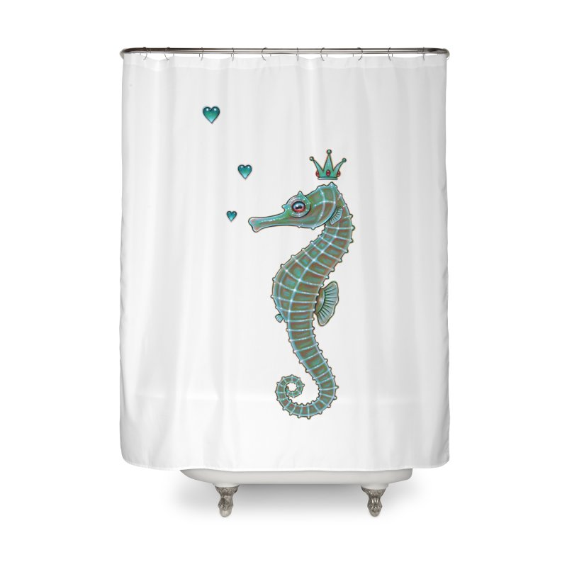 SeaHorse Shower Curtain Home By Caia Koopmans Artist Shop