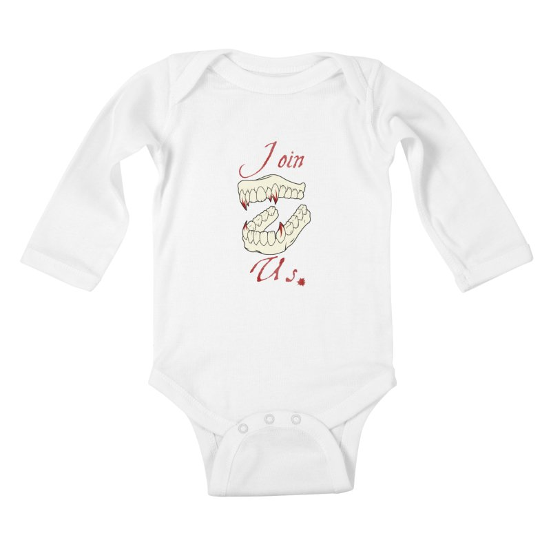 Join us Kids Baby Longsleeve Bodysuit by Calahorra Artist Shop