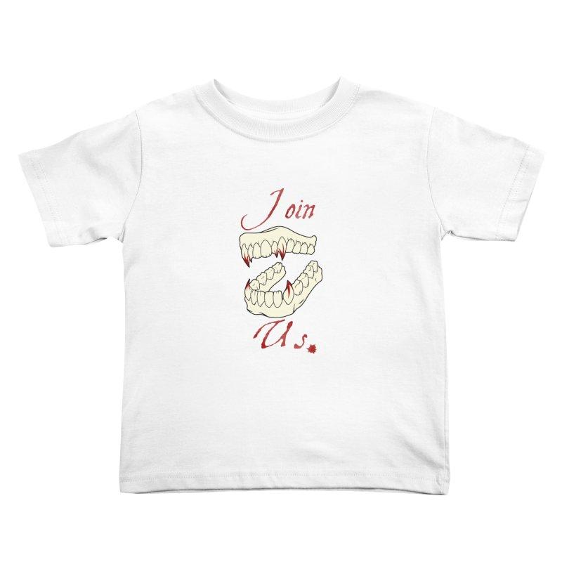 Join us Kids Toddler T-Shirt by Calahorra Artist Shop
