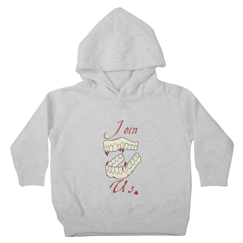 Join us Kids Toddler Pullover Hoody by Calahorra Artist Shop