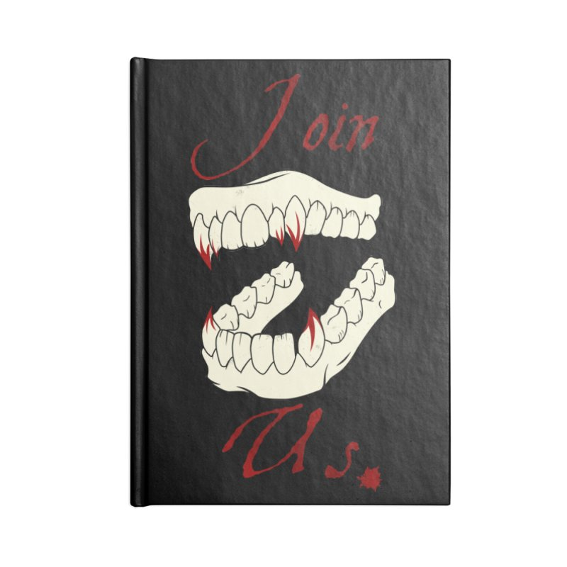 Join us Accessories Blank Journal Notebook by Calahorra Artist Shop