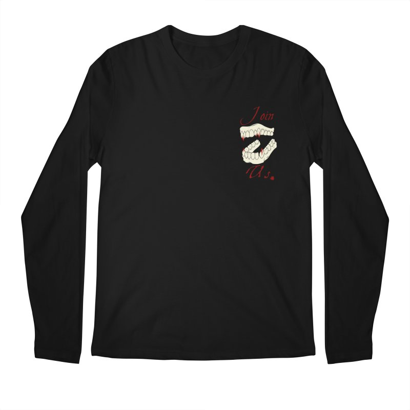 Join us pocket version Men's Longsleeve T-Shirt by Calahorra Artist Shop