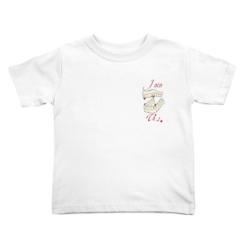 Join us pocket version Kids Toddler T-Shirt by Calahorra Artist Shop