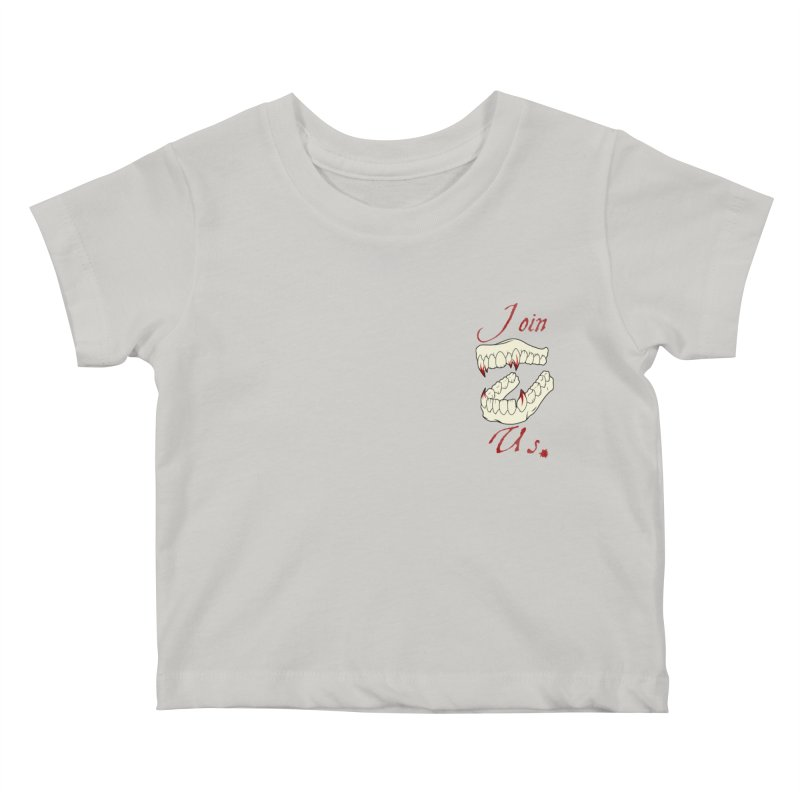 Join us pocket version Kids Baby T-Shirt by Calahorra Artist Shop