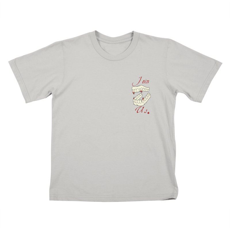 Join us pocket version Kids T-shirt by Calahorra Artist Shop