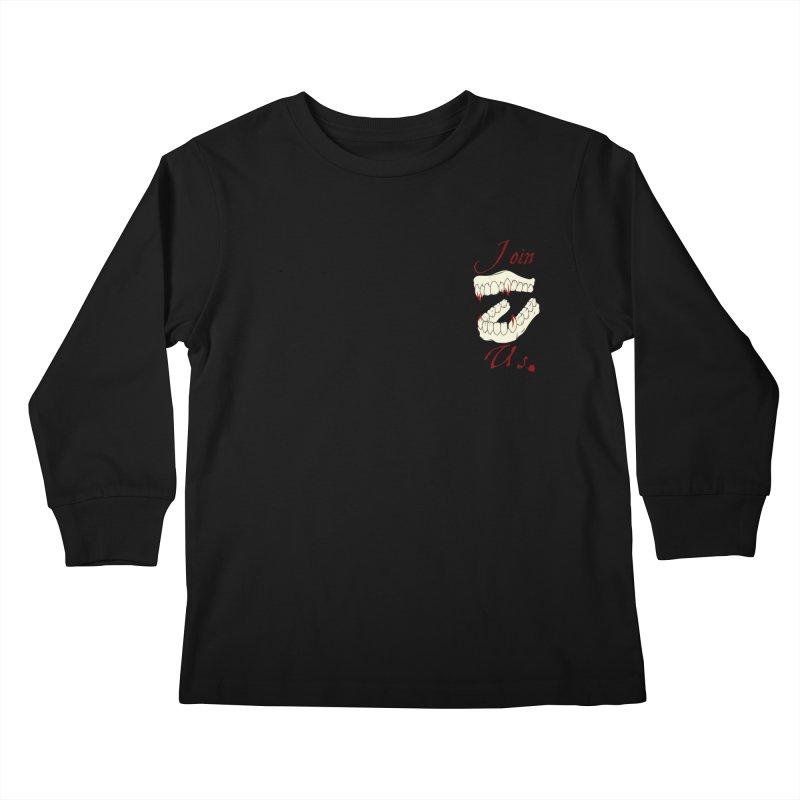 Join us pocket version Kids Longsleeve T-Shirt by Calahorra Artist Shop