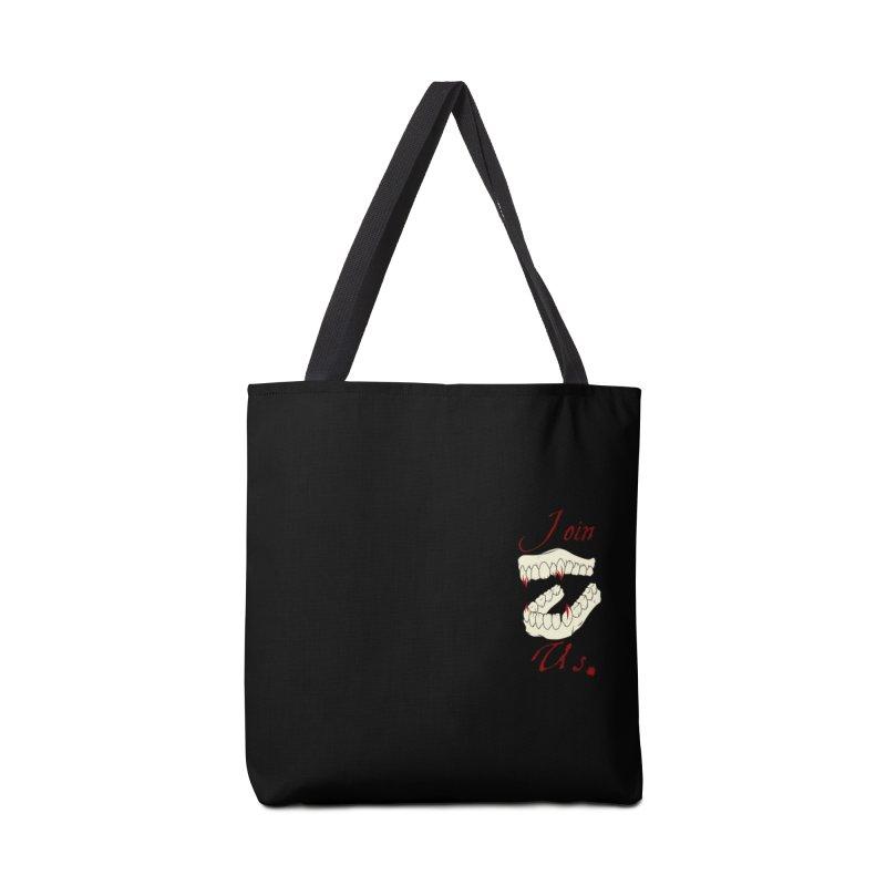 Join us pocket version Accessories Bag by Calahorra Artist Shop