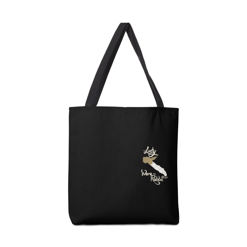 Lucky Were-Rabbits foot pocket Accessories Tote Bag Bag by Calahorra Artist Shop