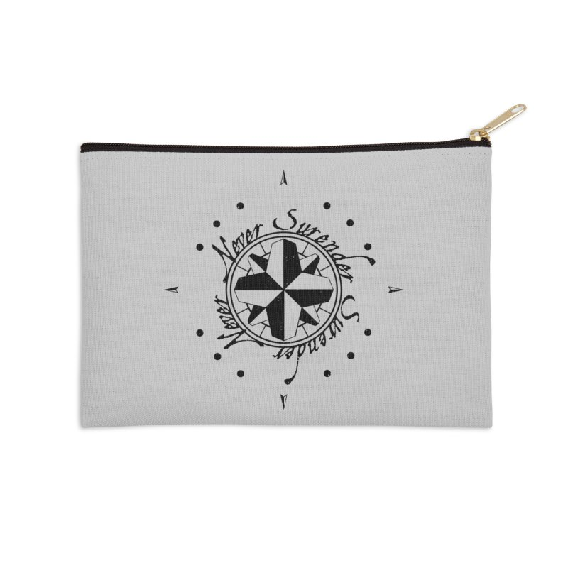 Never Surrender Accessories Zip Pouch by Calahorra Artist Shop