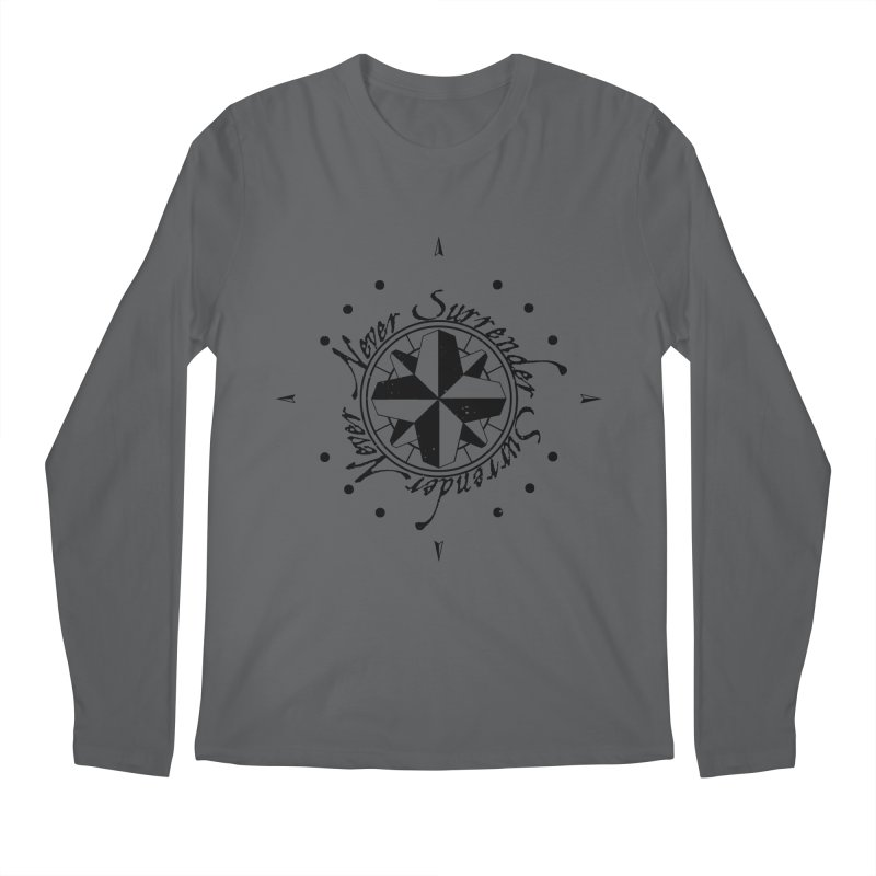 Never Surrender Men's Longsleeve T-Shirt by Calahorra Artist Shop