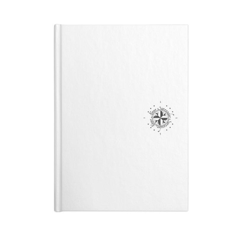 Never Surrender pocket Accessories Lined Journal Notebook by Calahorra Artist Shop