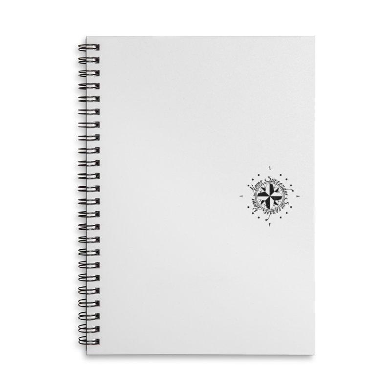 Never Surrender pocket Accessories Lined Spiral Notebook by Calahorra Artist Shop