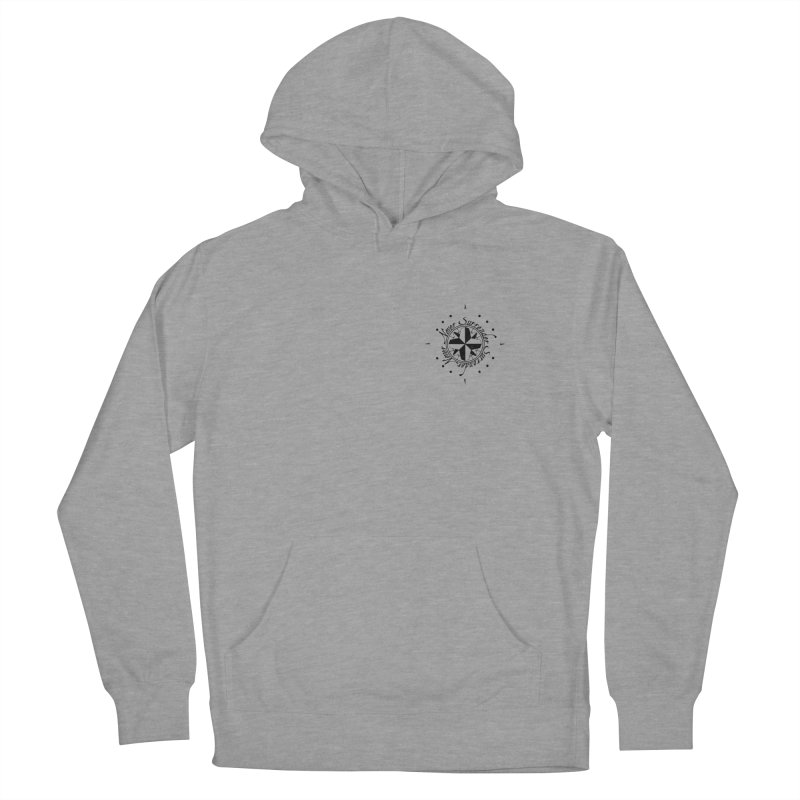 Never Surrender pocket Women's French Terry Pullover Hoody by Calahorra Artist Shop