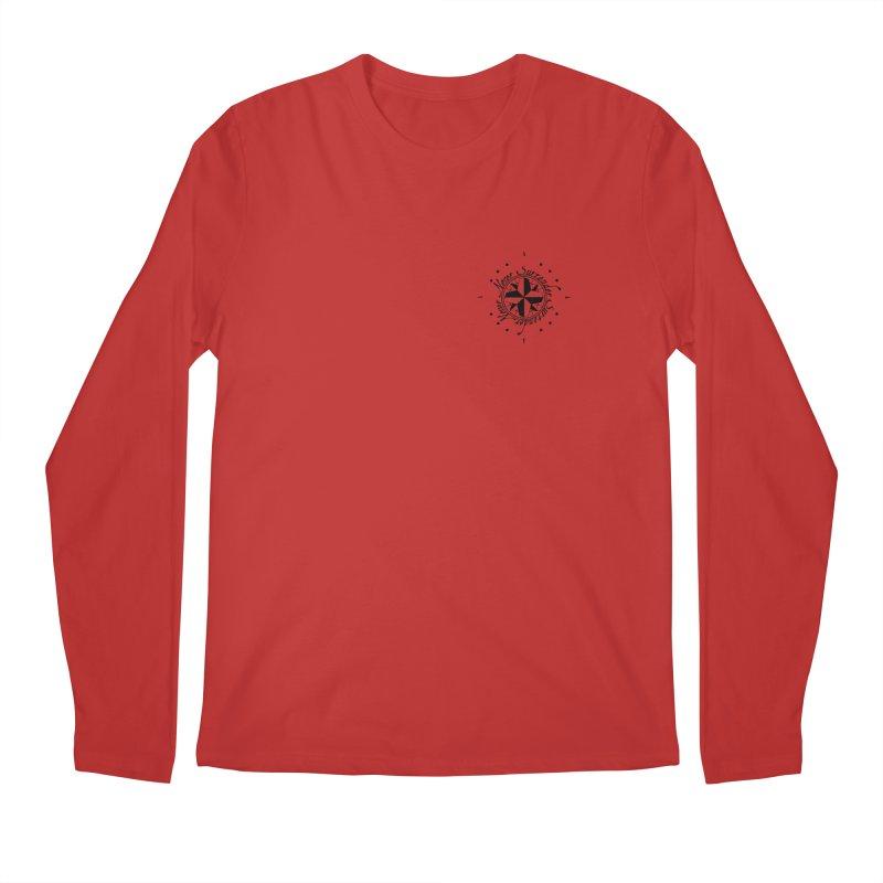 Never Surrender pocket Men's Regular Longsleeve T-Shirt by Calahorra Artist Shop