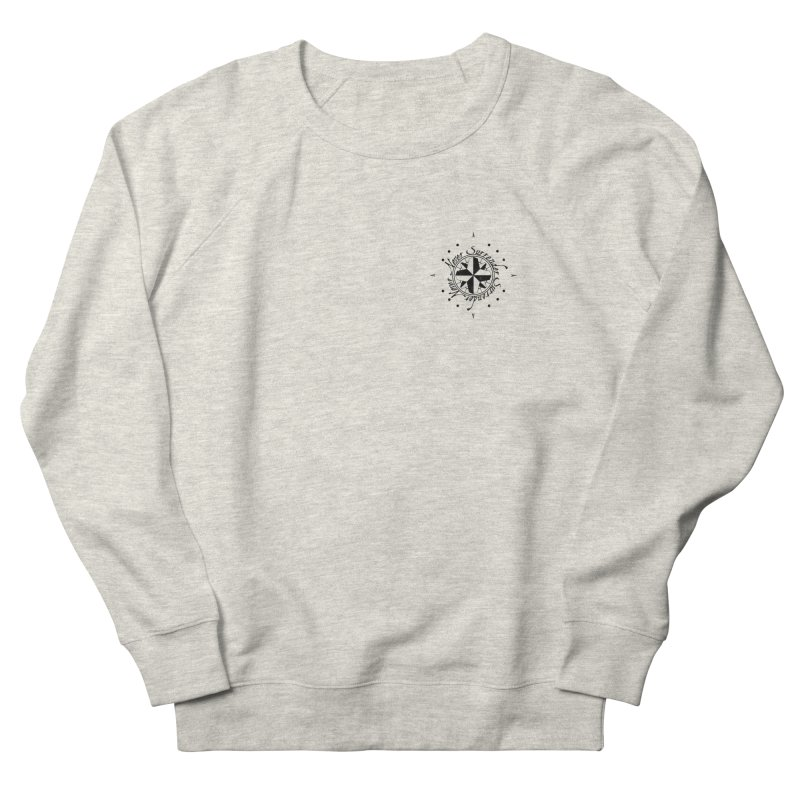 Never Surrender pocket Men's French Terry Sweatshirt by Calahorra Artist Shop