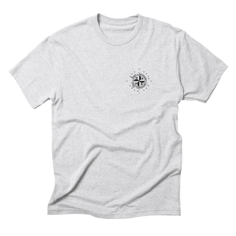 Never Surrender pocket Men's Triblend T-shirt by Calahorra Artist Shop