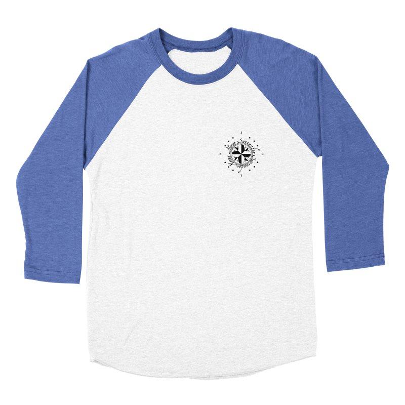 Never Surrender pocket Men's Baseball Triblend Longsleeve T-Shirt by Calahorra Artist Shop
