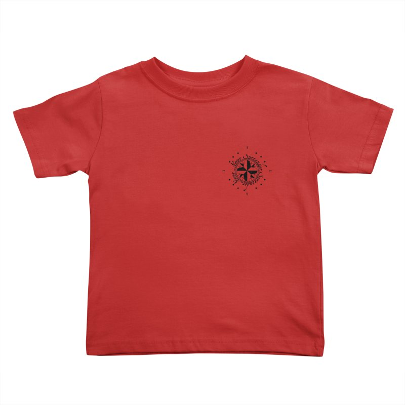 Never Surrender pocket Kids Toddler T-Shirt by Calahorra Artist Shop