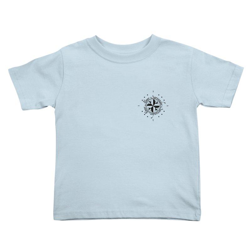 Never Surrender pocket Kids Toddler T-Shirt by Calahorra Artist Shop