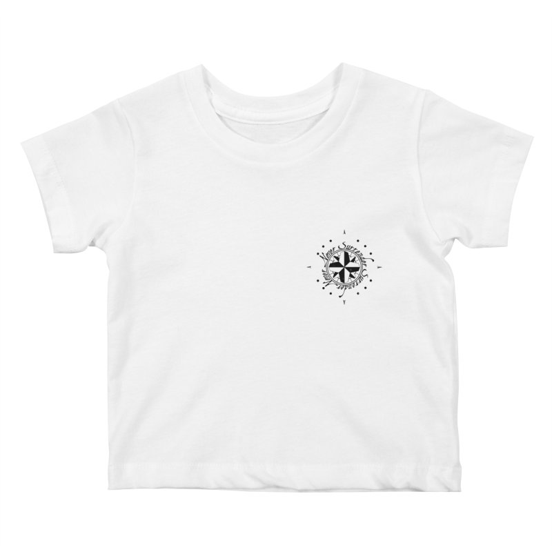 Never Surrender pocket Kids Baby T-Shirt by Calahorra Artist Shop
