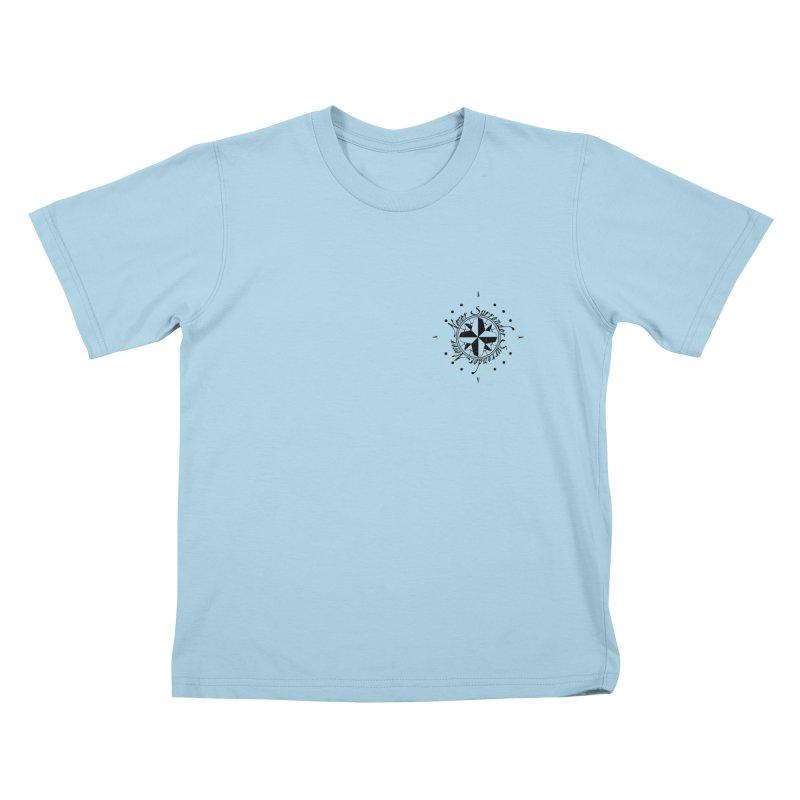 Never Surrender pocket Kids T-Shirt by Calahorra Artist Shop