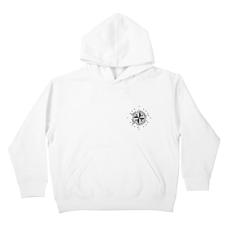 Never Surrender pocket Kids Pullover Hoody by Calahorra Artist Shop