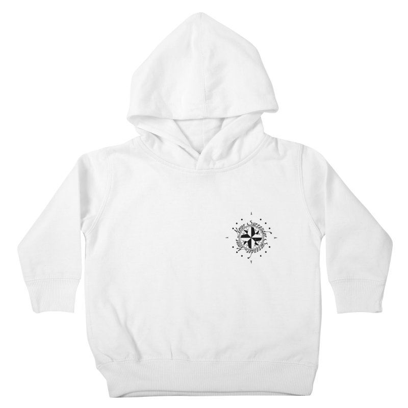 Never Surrender pocket Kids Toddler Pullover Hoody by Calahorra Artist Shop