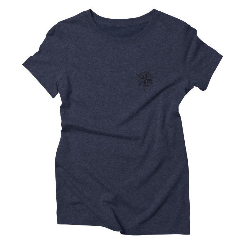 Never Surrender pocket Women's Triblend T-Shirt by Calahorra Artist Shop