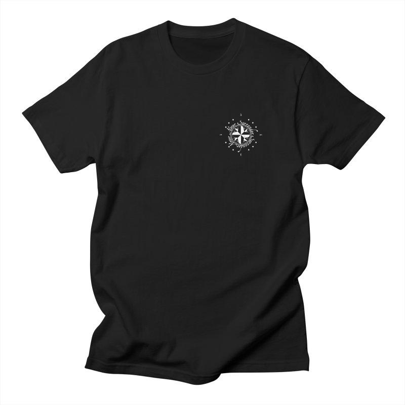 Never Surrender in white pocket Men's T-shirt by Calahorra Artist Shop