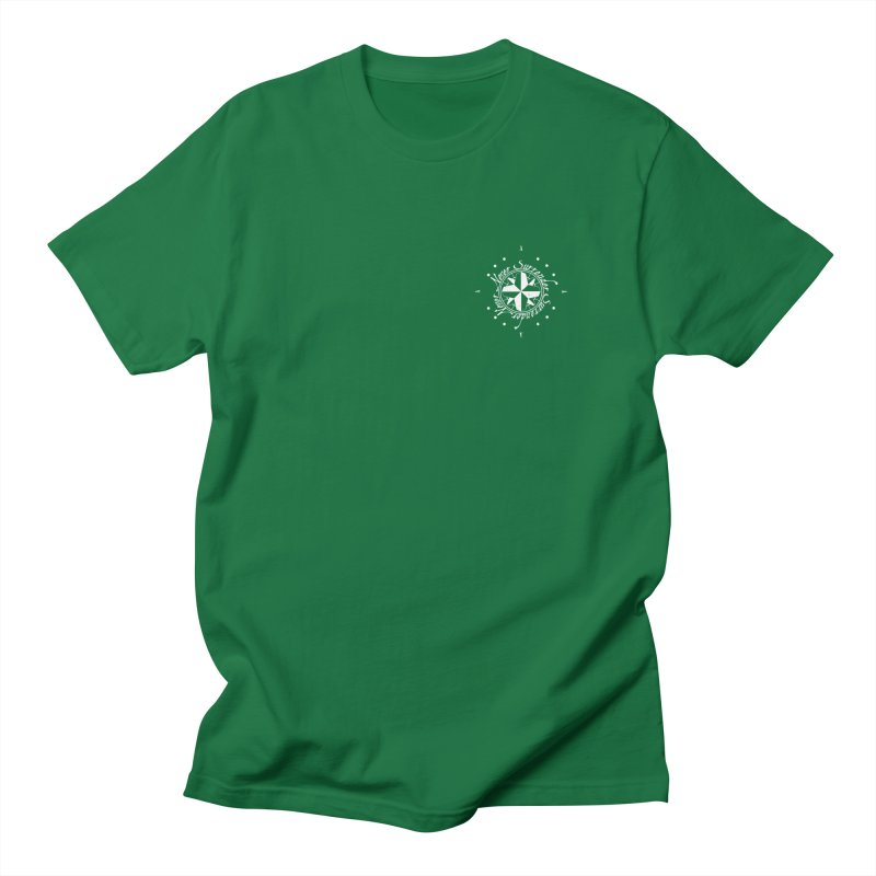 Never Surrender in white pocket Men's Regular T-Shirt by Calahorra Artist Shop