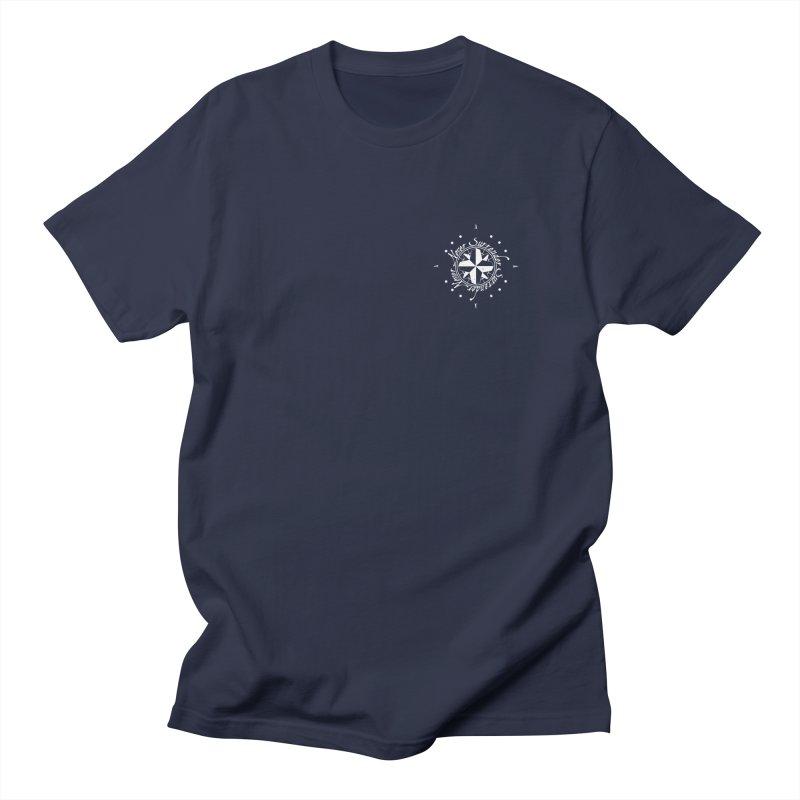 Never Surrender in white pocket Women's Regular Unisex T-Shirt by Calahorra Artist Shop
