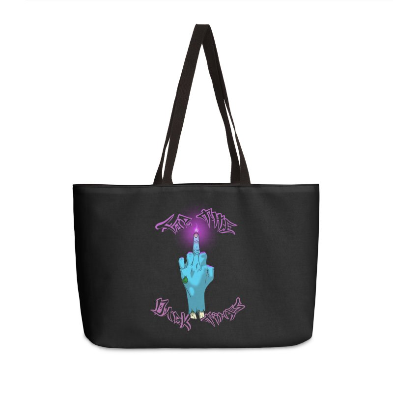 For The Dark Times (Zombie) Accessories Weekender Bag Bag by Calahorra Artist Shop