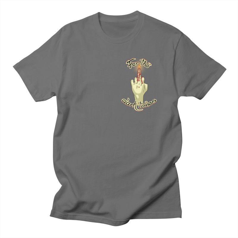 For The Dark Times (Candle Pocket) Men's T-Shirt by Calahorra Artist Shop