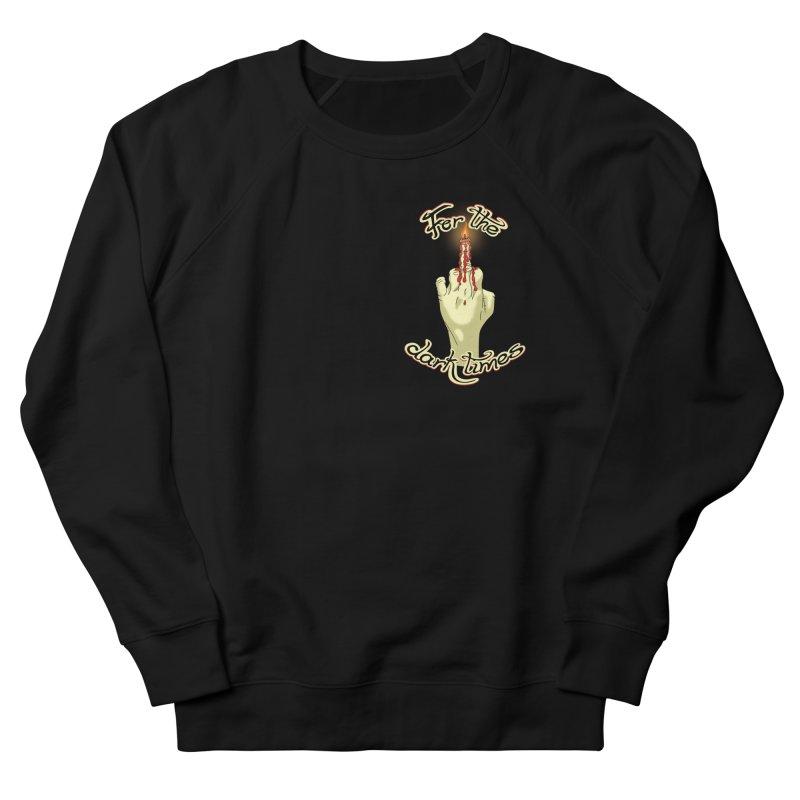 For The Dark Times (Candle Pocket) Men's Sweatshirt by Calahorra Artist Shop