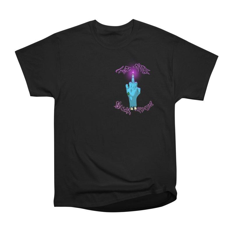 For The Dark Times (Zombie Pocket) Women's Heavyweight Unisex T-Shirt by Calahorra Artist Shop