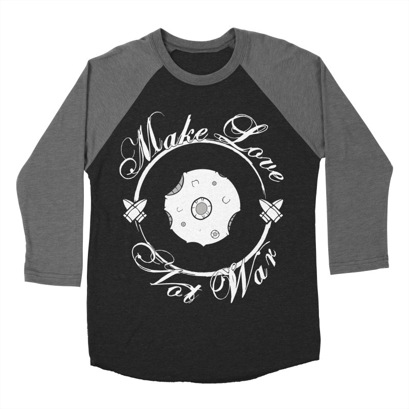 MAKE LOVE NOT WAR!!!  Women's Baseball Triblend Longsleeve T-Shirt by Calahorra Artist Shop