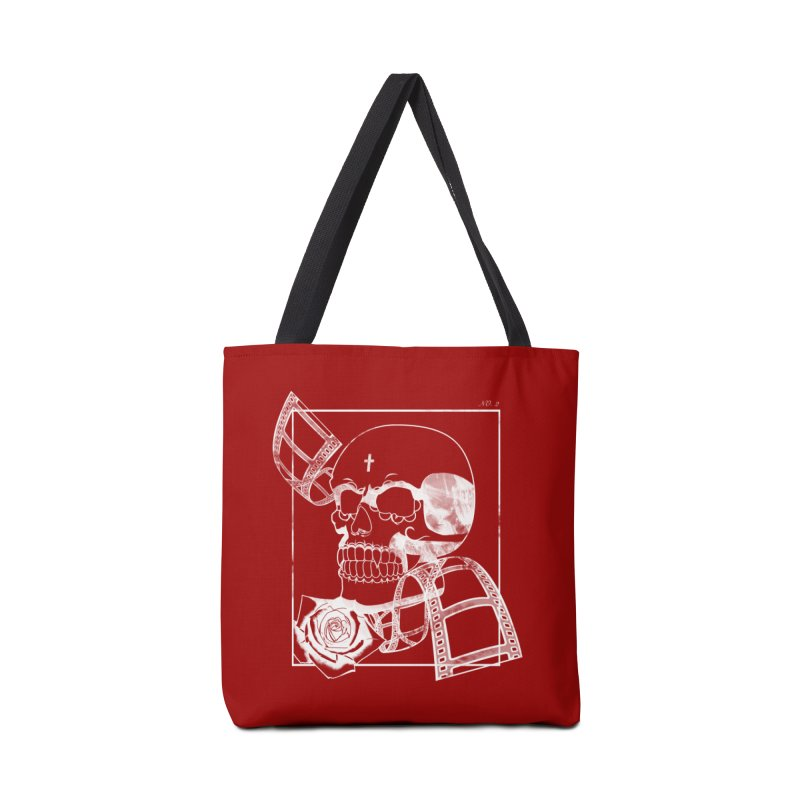 No. 2 in white outline Accessories Tote Bag Bag by Calahorra Artist Shop