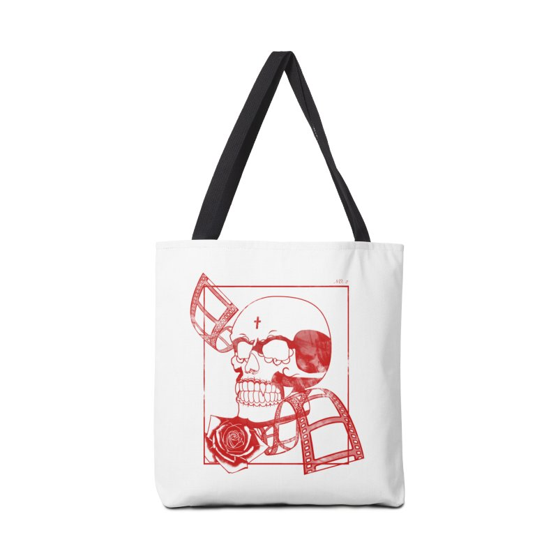No. 2 in red outline Accessories Tote Bag Bag by Calahorra Artist Shop