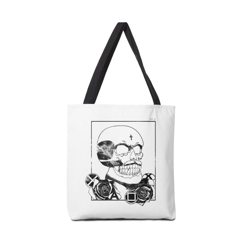 No. 3 Accessories Tote Bag Bag by Calahorra Artist Shop