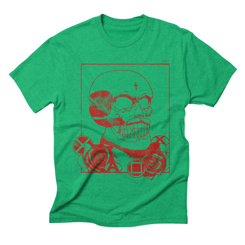 No. 3 in red outline   by Calahorra Artist Shop