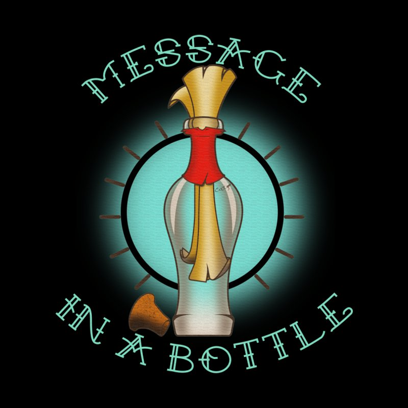 Message in a bottle Men's V-Neck by Calahorra Artist Shop