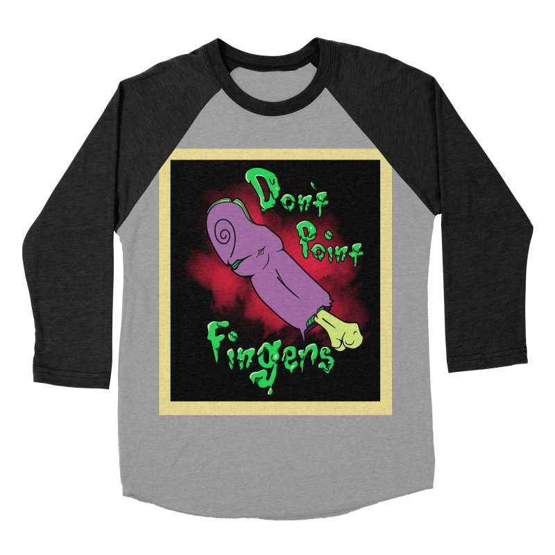 Don't Point Fingers!!! in purple   by Calahorra Artist Shop