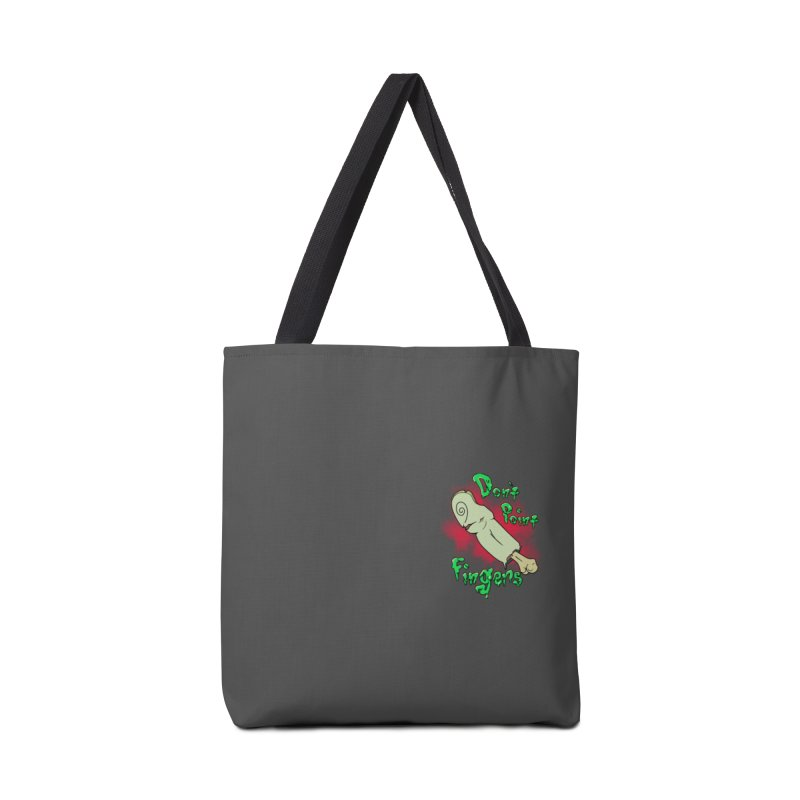 Don't Point Fingers!!! in blue pocket version Accessories Tote Bag Bag by Calahorra Artist Shop