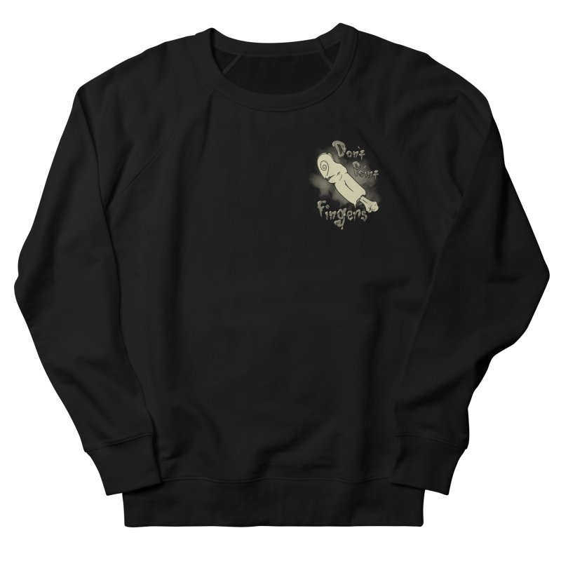 Don't Point Fingers!!! in classic pocket version Men's Sweatshirt by Calahorra Artist Shop